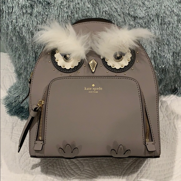 d4ce423c15696 Nwt Kate Spade Owl Tomi star bright backpack